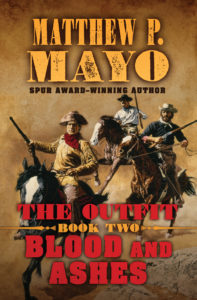 The Outfit (Book 2): Blood and Ashes Cover