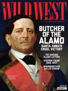 Wild West Magazine Cover Feb 2018