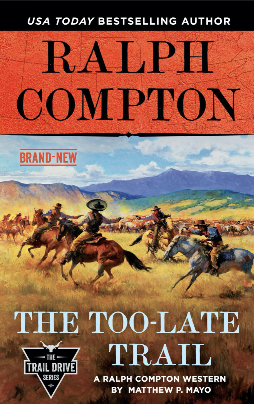 The Too-Late Trail cover
